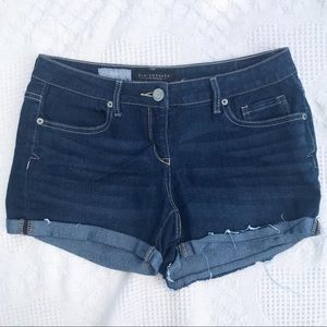 Aeropostale midi denim shorts